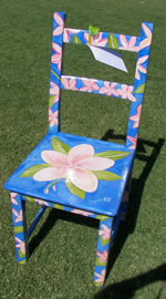 FRANGIPANI CHAIR by Jacqueline Alves